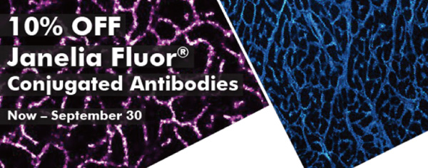 10% OFF Janelia Fluor Conjugated Antibodies